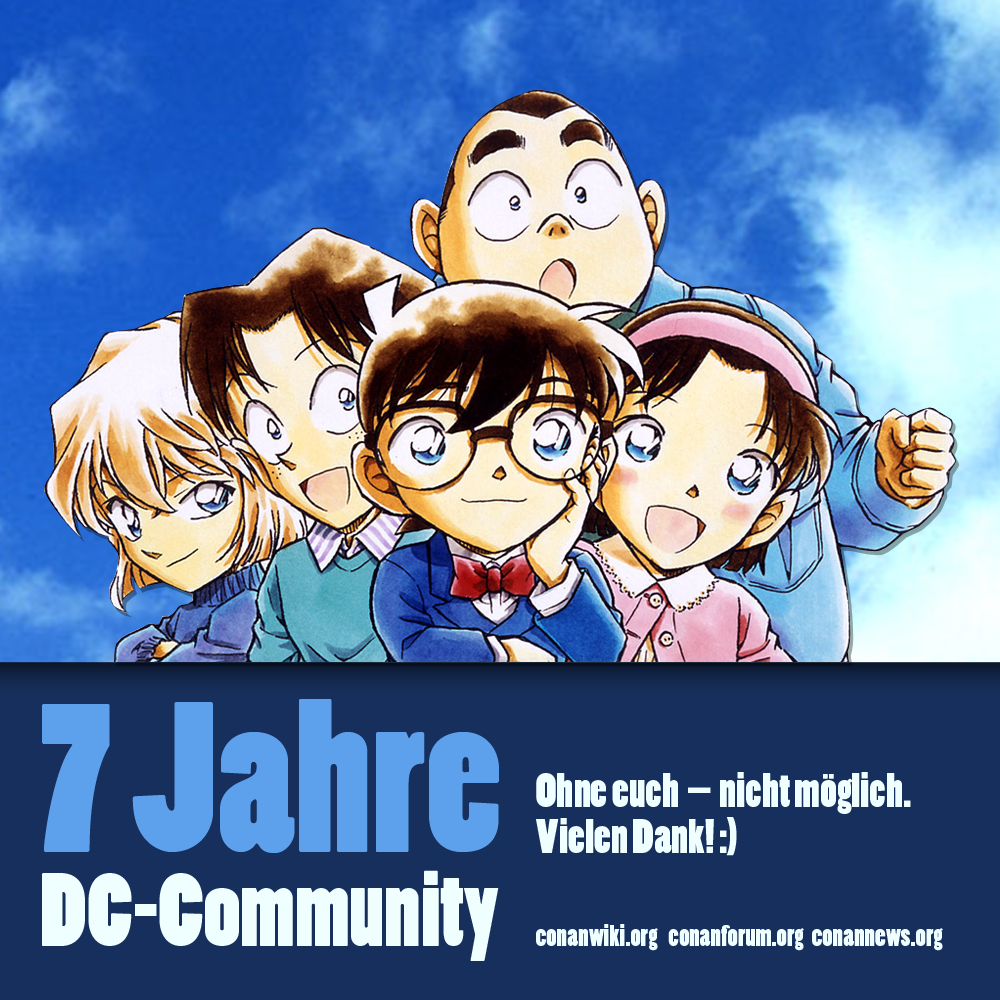 7 Jahre Detektiv Conan-Community