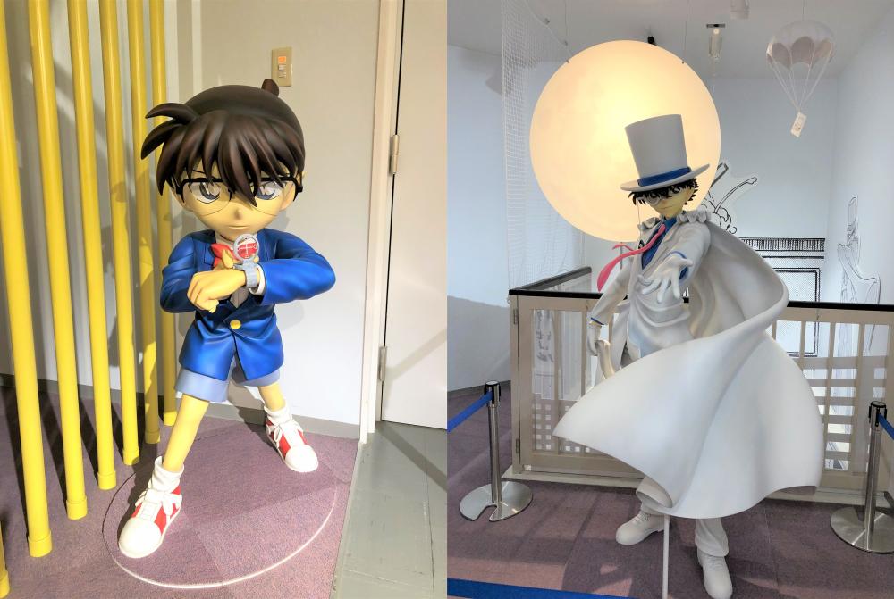 Conan Town: Zwei neue Statuen