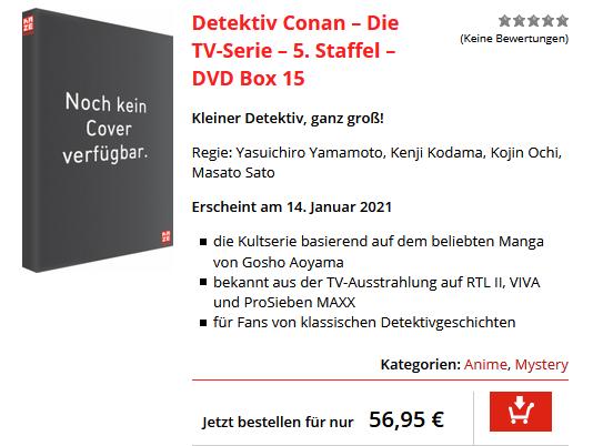 Detektiv Conan DVD Box 15