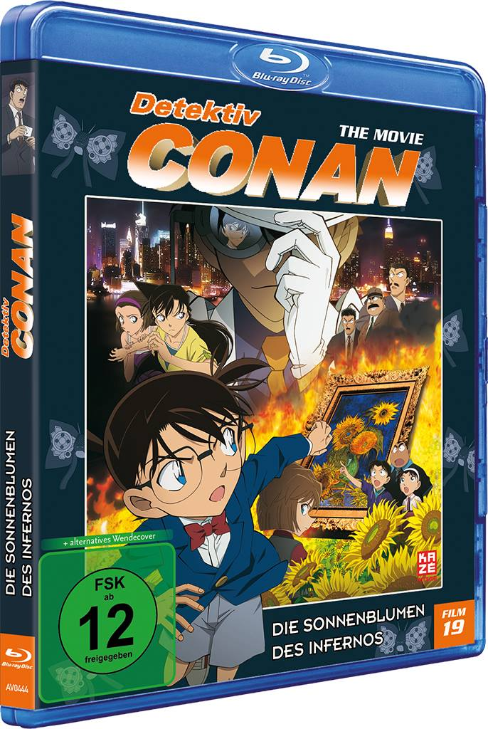 Detektiv Conan – The Movie (19) – Die Sonnenblumen des Infernos Blu-ray