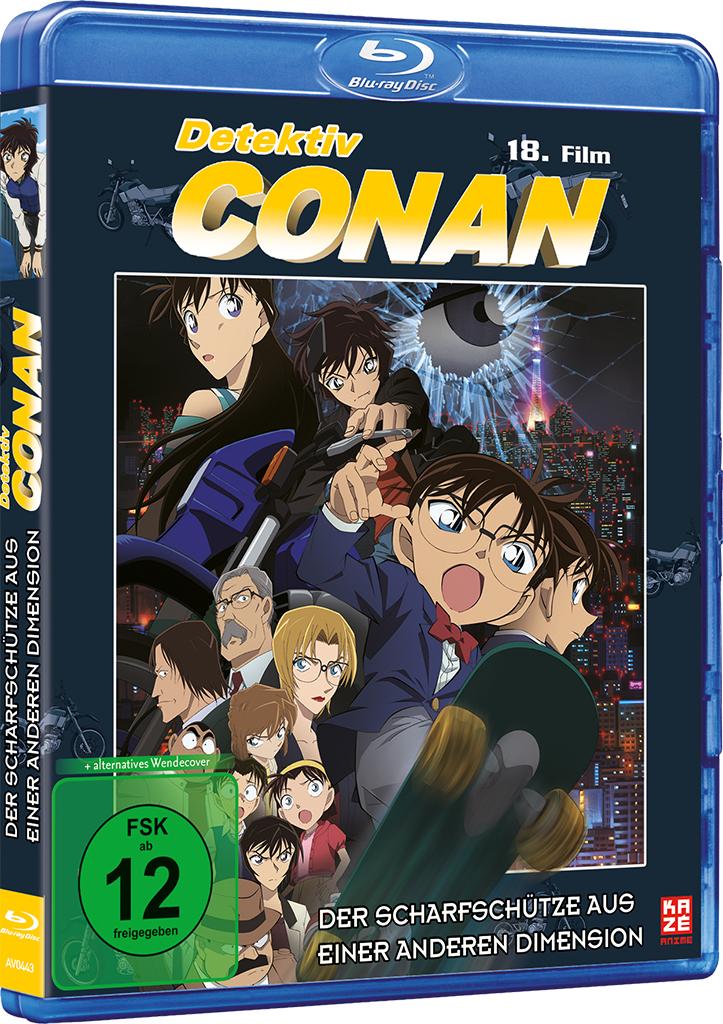 Detektiv Conan 18 Film Der Scharfschütze aus einer anderen Dimension Blu-ray