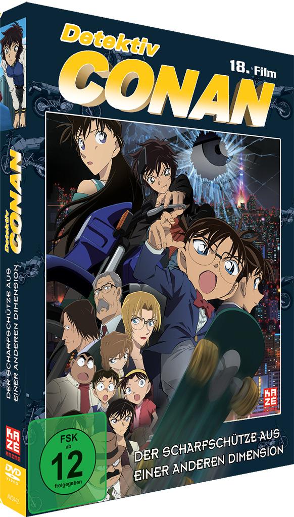 Detektiv Conan 18 Film Der Scharfschütze aus einer anderen Dimension DVD
