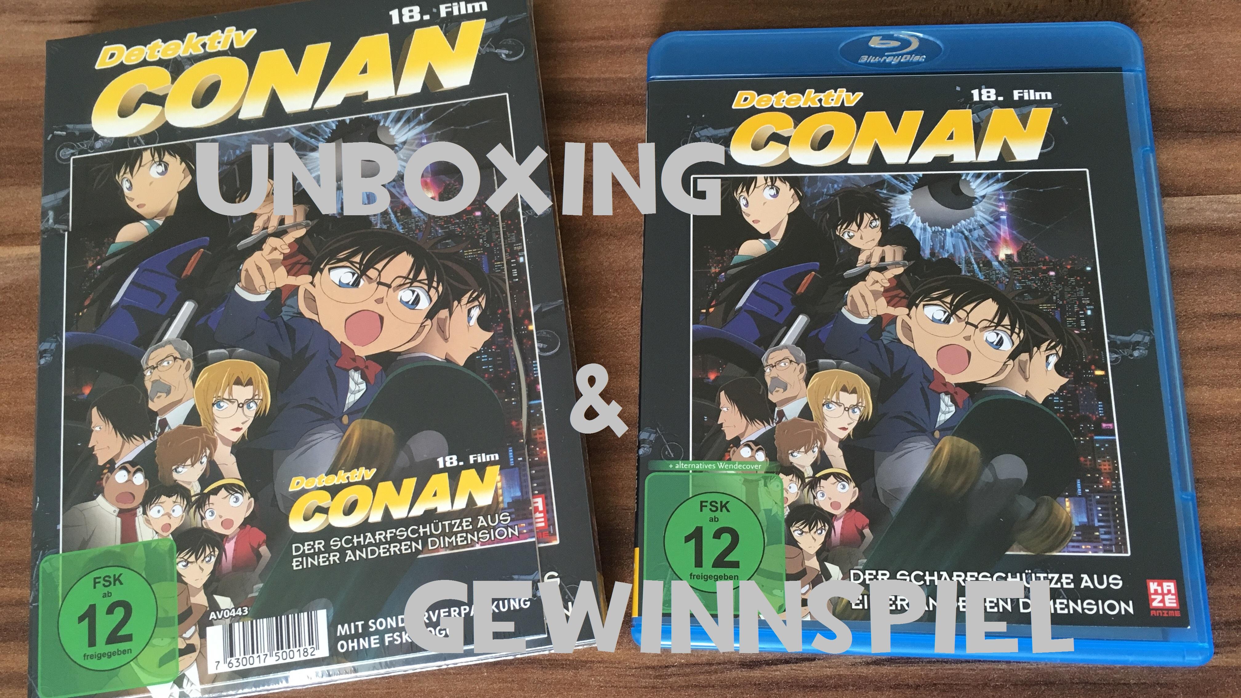 Detektiv Conan 18 Film Unboxing Gewinnspiel | ConanNews.org – Deine ...