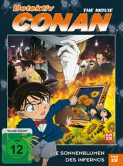 Detektiv Conan 19 Die Sonnenblumen des Infernos Vorab-Cover DVD
