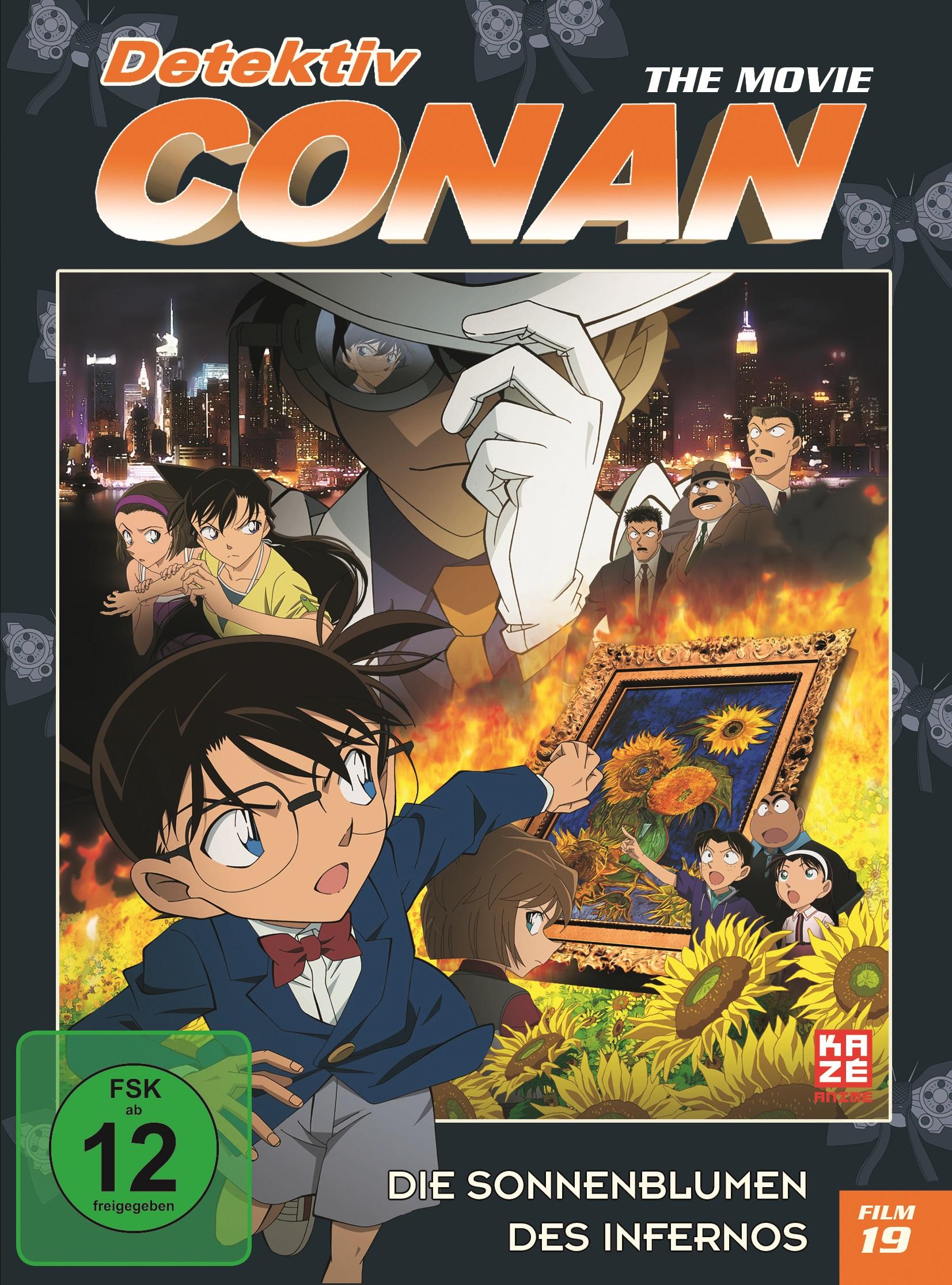 Detektiv Conan 19 Film Die Sonnenblumen des Infernos DVD