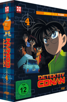Detektiv Conan die TV-Serie DVD Box 4