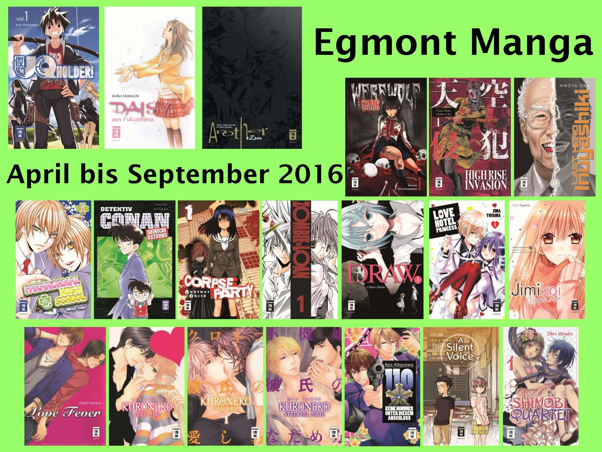 Egmont Manga Frühjahr 2016 Detektiv Conan Shinichi Returns