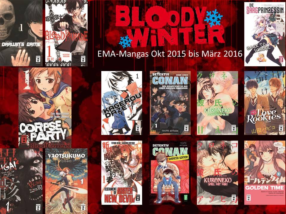 Egmont Manga Winter 2015 2016 Neuheiten