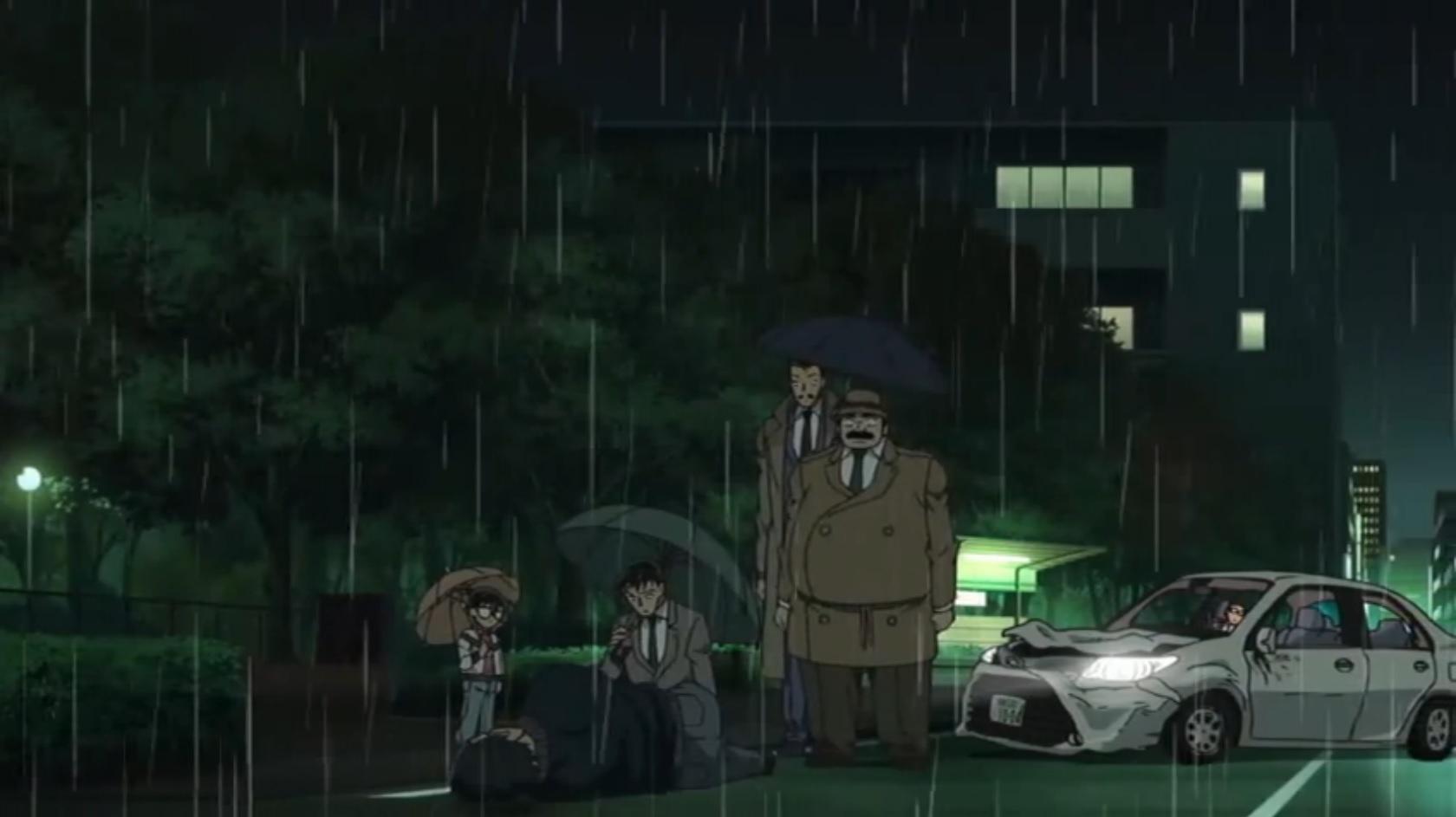 Episode 841: Die regnerische Bushaltestelle
