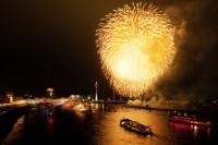 Feuerwerk-Japantag