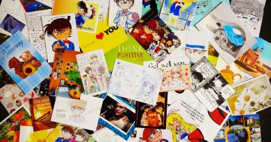 """""""Gute Besserung, Aoyama-sensei!"""" EMA und ConanNews.org versenden über 100 Postkarten nach Japan! © Bild: Egmont Verlagsgesellschaften mbH / ConanNews.org"""