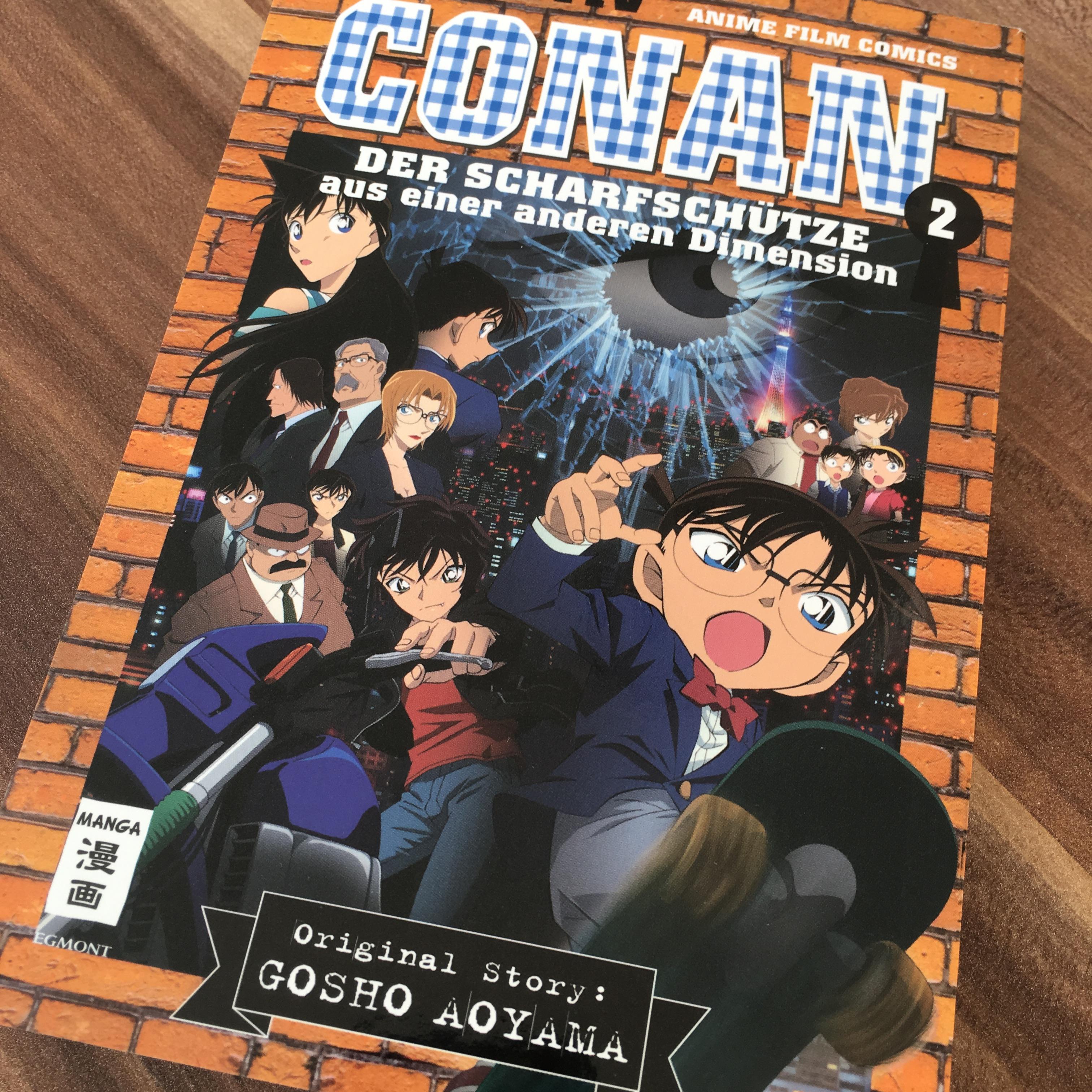 Detektiv Conan Der Scharfschütze aus einer anderen Dimension 2 Anime Film Comics