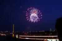 Japantag-Feuerwerk im Jahr 2005
