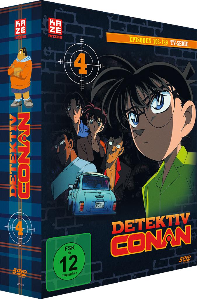Detektiv Conan DVD-Box 4