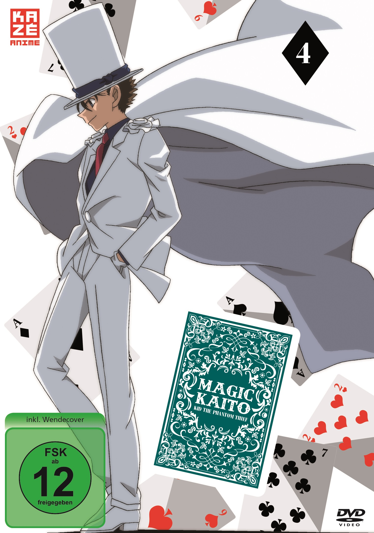 Magic Kaito Kid the Phantom Thief DVD Vol 4