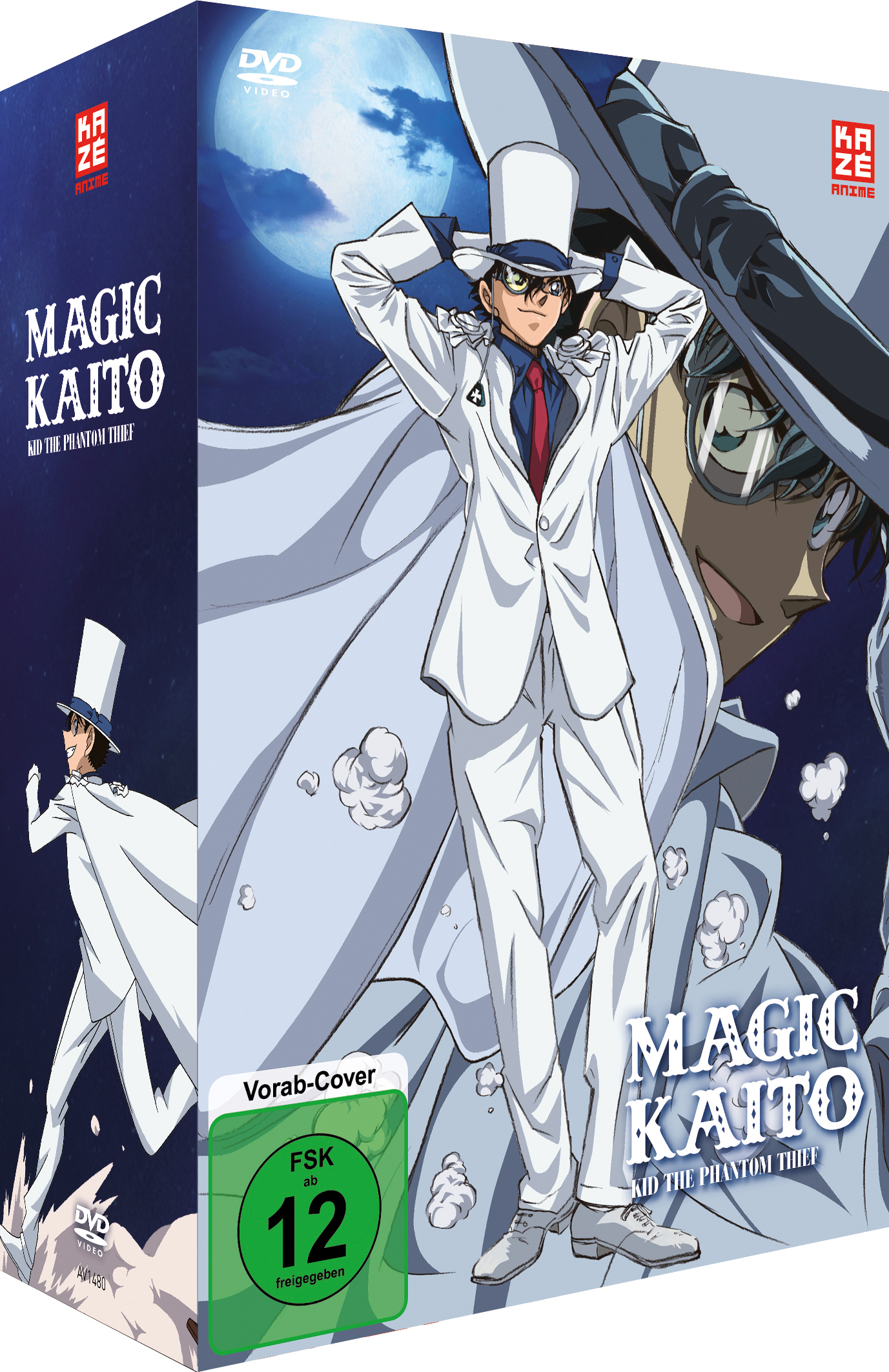 Magic Kaito Kid the Phantom Thief Vol 1 Sammelschuber DVD Vorabcover
