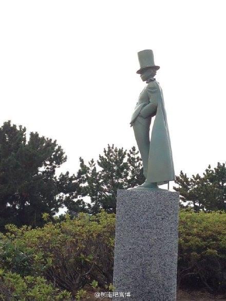 Neue Kaito Kid-Statue 2