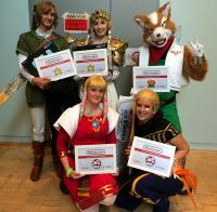 Nintendo Cosplay Wettbewerb Connichi 2014