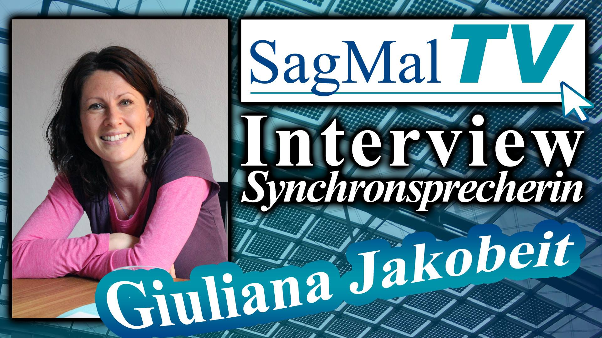 SagMalTV Synchronsprecherin Interview Giuliana Jakobeit Ran Mori