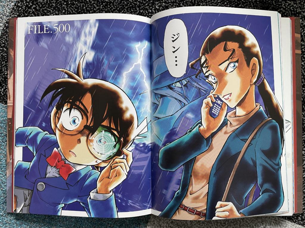 Titelbild von Kapitel 500 in Farbe