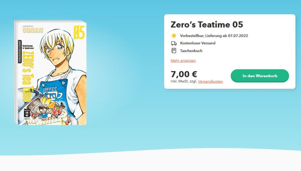 Zero's Tea Time